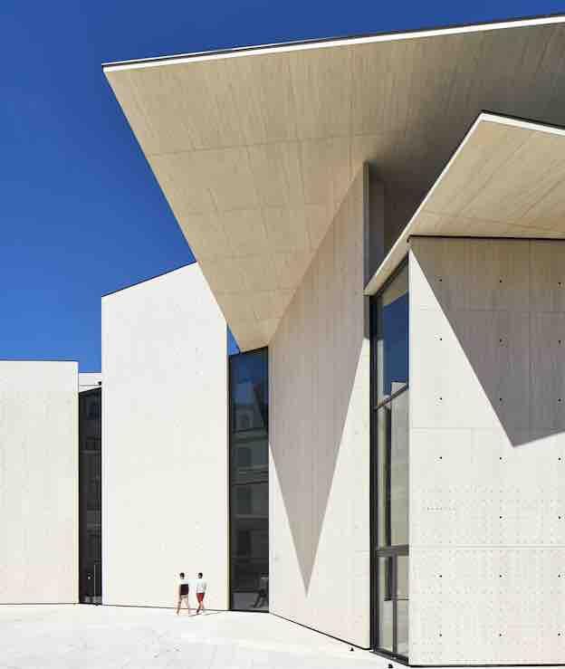 Le Signe, centre national du graphisme, Chaumont © Guillaume Ducreux