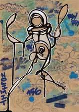 « Les petits papiers », exposition de Psyckoze à la Galerie Ligne 13, Paris, du 19 mars au 25 avril 2013