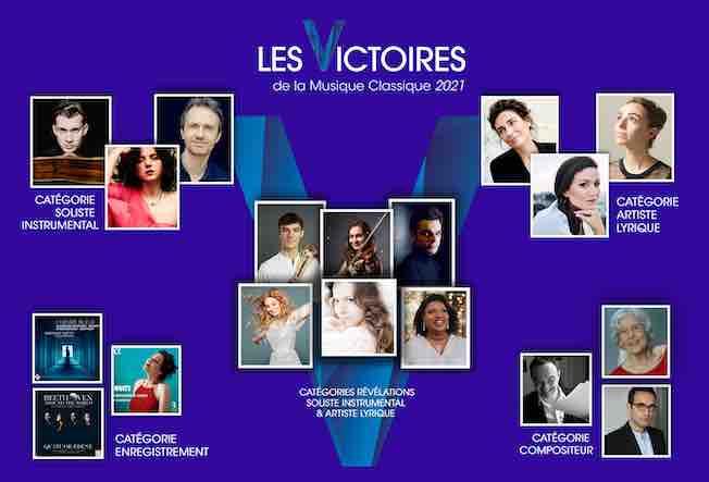 28e Cérémonie des Victoires de la Musique Classique en février 2021 depuis l'Auditorium de Lyon