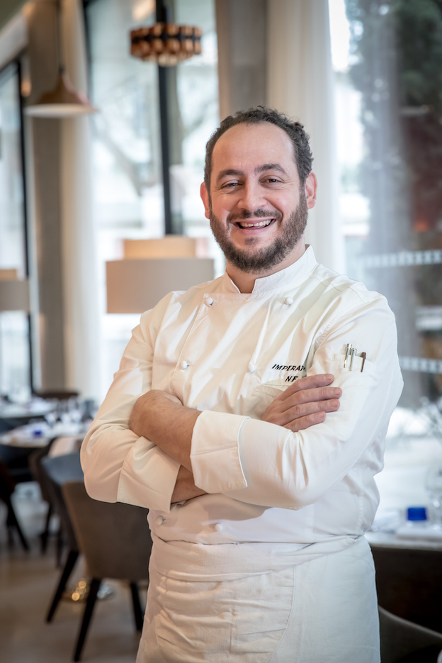 Chef Nicolas Fontaine © DR