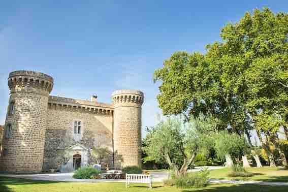 Entrée du Château de Massillian © DR