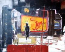 Ute Michel, peinture, Nicole Brousse, sculpture, à la Ferme des Arts, Vaison-la-Romaine, du 15 mars au 18 avril 2013