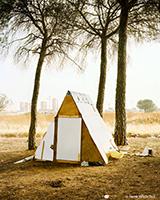 """Shelter"" Henk Wildschut, photographies, Voies Off, Arles, du 23 mars au 9 juin 2013"