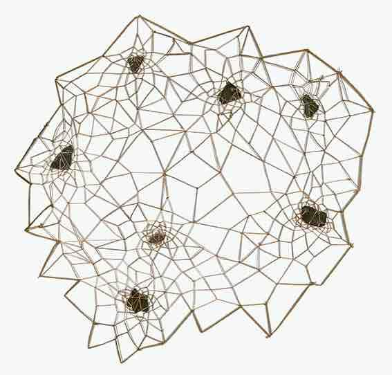 Paris, galerie Univer, Marinette Cueco « Ardoises, entrelacs », exposition du 11 février au 1er mai 2021