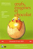 « Œufs, énigmes et chocolat » dans 53 de ses monuments, le dimanche 31 mars 2013