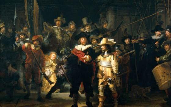 « La Ronde de Nuit » de Rembrandt