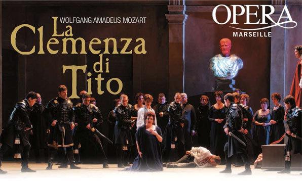 La Clemenza di Tito de Mozart, Opéra de Marseille, du 4 au 12 Mai 2013