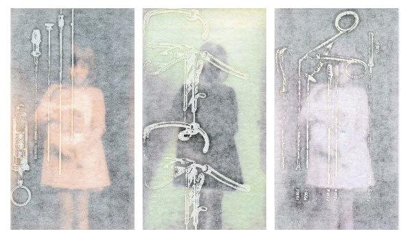 """Exposition """"La fillette et l'enfant"""", Marcelle Benhamou, galerie La Maroquinerie à Nantua (01) du 6 avril au samedi 4 mai"""