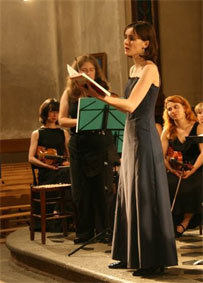 Récital Mozart, musique sacrée, Vochora, Collégiale de Tournon (07) le 11 mai 2013
