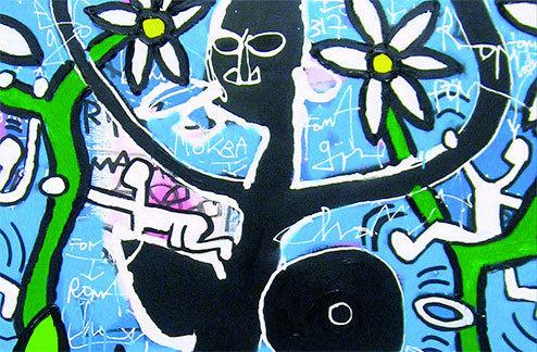 Œuvres inédites de Kokian à la galerie SBK, Lyon,  jusqu'au 1er juin 2013