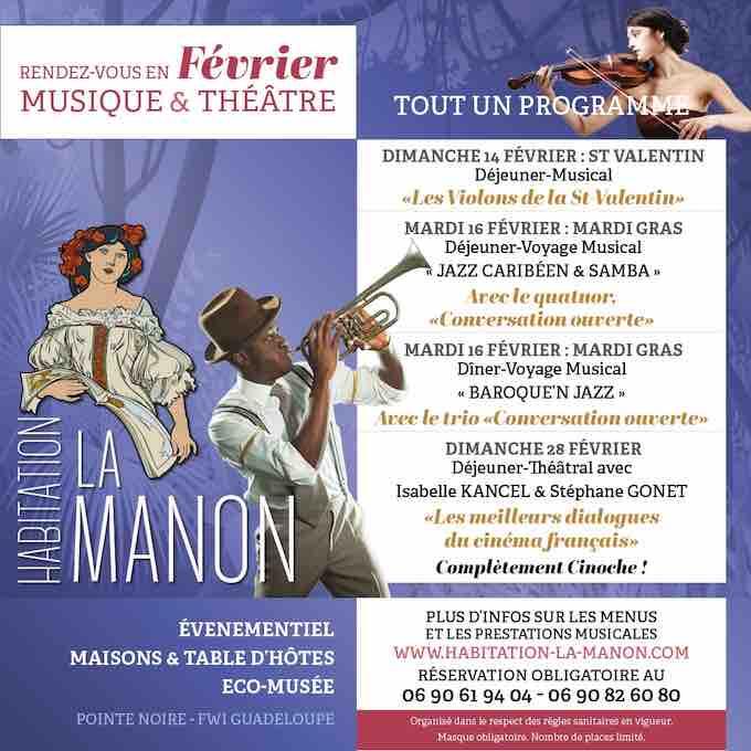 Guadeloupe. Festival de Musique Classique des Nuits Caraibes version 2021