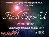 Nice. Artistes Photographes, Rejoignez-nous! Participez au FLASH EXPO-U, 2e édition, et gagnez une expo, un vernissage /cocktail