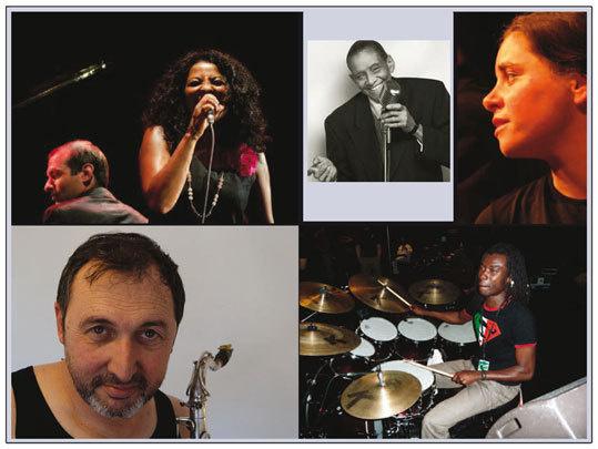 Jizzy, une histoire de jazz en amérique, d'après la vie de Jimmy Scott. Théâtre de Pierres, Fouzilhon (34), 26 & 27 avril 2013 à 21h