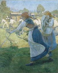Ivan Grohar (1867-1911) Faneuses, 1902 Musées de la Ville de Ljubljana © Narodna Galerija (Galerie nationale de Slovénie, Ljubljana)