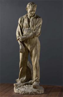 Aimé-Jules Dalou, Le Grand Paysan,  Musée des Beaux-Arts de la Ville de Paris, Petit Palais ©Eric Emo / Petit Palais / Roger Viollet