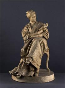 Aimé-Jules Dalou, La Liseuse, Paris, Petit Palais, Musée des Beaux-Arts de la Ville de Paris © Petit Palais/ Roger-Viollet