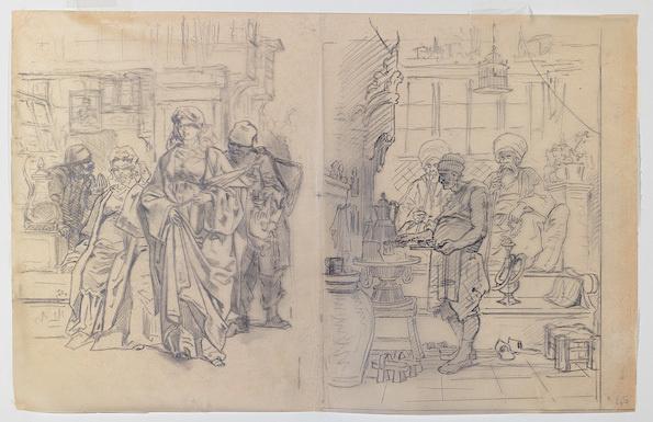 « Istanbul dessinée par le comte Amadeo Preziosi », Galerie Jean-François Heim, Paris, du 9 au 26 avril 2013