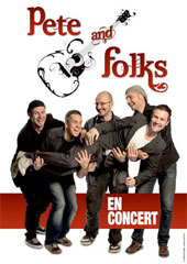 Pete And Folks en concert au Cedac de Cimiez à Nice le 25 Mai 2013 à 20h