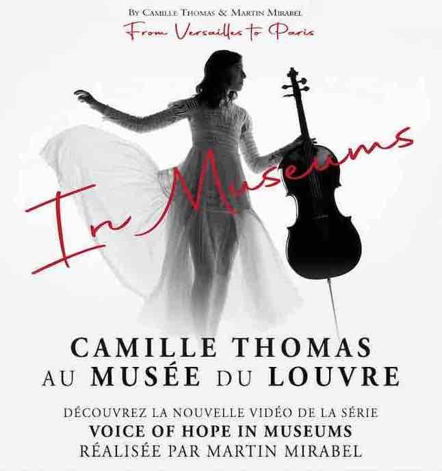 Camille Thomas au Musée du Louvre : la dernière vidéo de son projet Voice of Hope in Museums