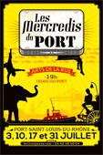 Les Mercredis du Port - 4ème édition à Port Saint Louis du Rhône. Les 3, 10, 17 et 31 juillet 2013