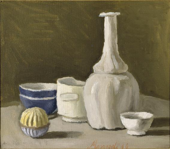 Giorgio Morandi Natura morta, 1936 olio su tela 32 x 37 cm Private collection