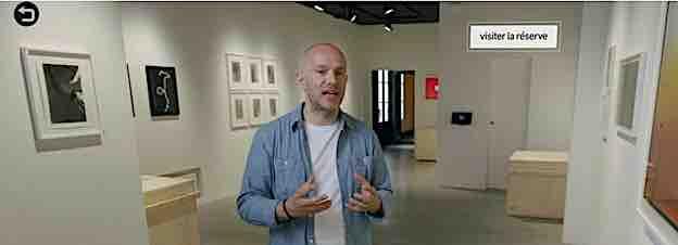 Interactive Art Video, le nouveau concept de visite guidée artistique fondée sur la vidéo interactive !