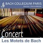 Concert Les Motets de Bach, Temple de l'Etoile, Paris, le 1er juin 2013