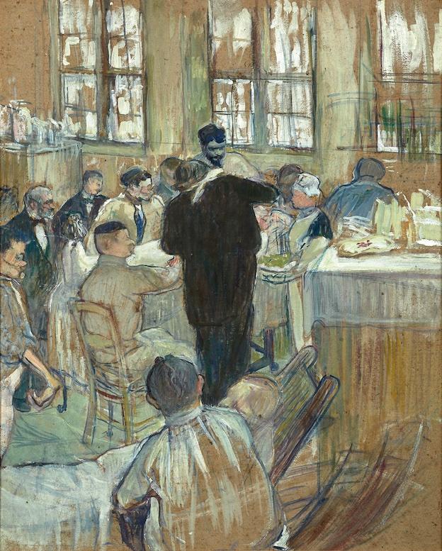 Toulouse-Lautrec (1864-1901). Une opération par le Docteur Péan à l'Hôpital International © DR