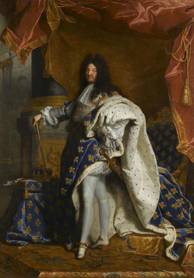 Portrait de Louis XIV en costume Hyacinthe Rigaud (1659-1743) 1701-1702 Huile sur toile Musée du Louvre, Paris © RMN-GP (musée du Louvre) / S. Maréchalle