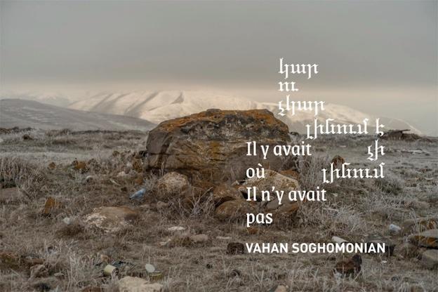 Saint-Fons, Centre d'arts plastiques, exposition «Vahan Soghomonian, Il y avait où il n'y avait pas », du 7 au 29 mai 2021