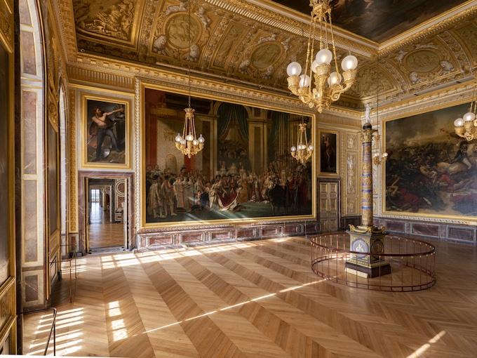 Salle du Sacre © château de Versailles, T. Garnier