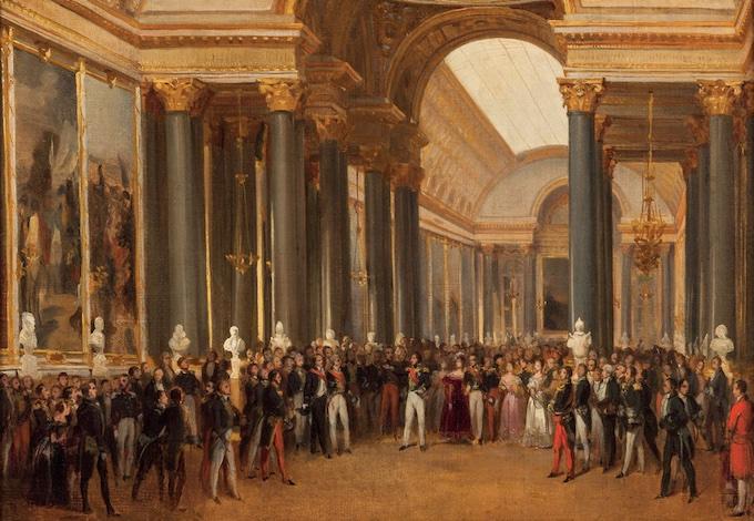 Inauguration du musée de Versailles, le 10 juin 1837 François Joseph Heim (1787-1865) © RMN-Grand Palais (Château de Versailles) / image RMN-GP
