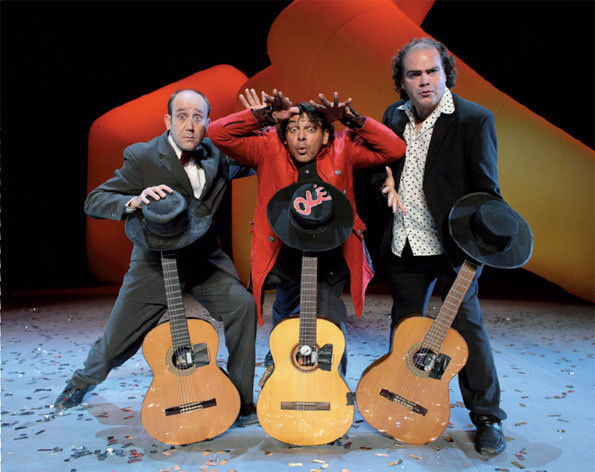 Olé, Heavy mental Flamenco show le 31 août