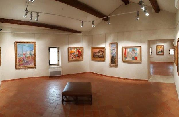 Musée Yves Brayer - Salle-2 © MYB