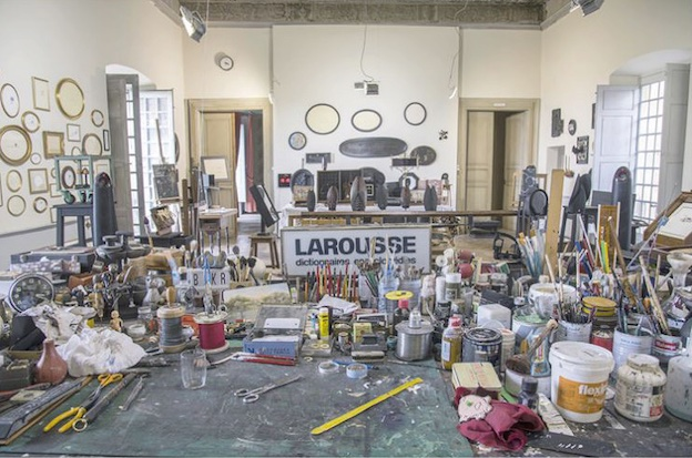 L'atelier de Philippe Favier, 2020 © Musée de Valence, Emmanuel Georges © Adagp, Paris, 2020