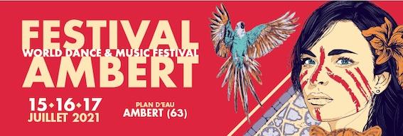 World Festival Ambert (63) : Boulevard des Airs, Deluxe, La Rue Kétanou, Dionysos et Gaël Faye en concert, 15, 16 et 17 juillet 2021