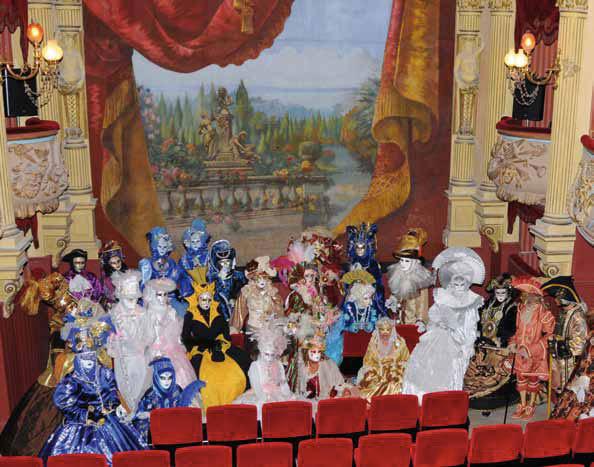 Théâtre chez Molière à Pézenas en juillet et août 2013