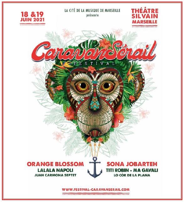 Marseille, Théâtre Silvain : Festival Caravansérail, l'été des retrouvailles ! 18 et 19 juin 2021