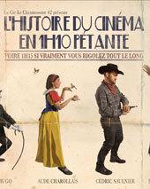 Avignon Off. « L'histoire du cinéma en 1h10 pétante » de Rémy.S, Laurette Théâtre Avignon. Du 5 au 31 Juillet 2013. Tous les jours à 15h35