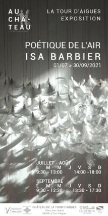 Poétique de l'air - Isa Barbier