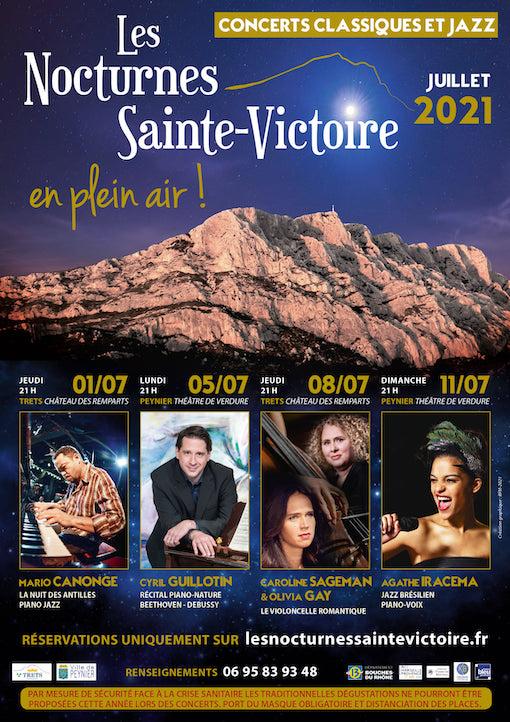 Festival Les Nocturnes de la Sainte-Victoire du 1er au 11 juillet 21 - « L'Edition de la Renaissance »