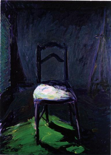Giorda, La Chaise, 2009, 162 x 114 cm