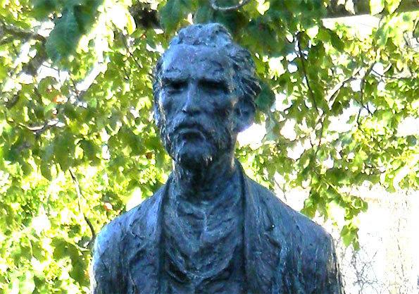 Statue de Van Gogh à St-Paul de Mausol ©Pierre Aimar