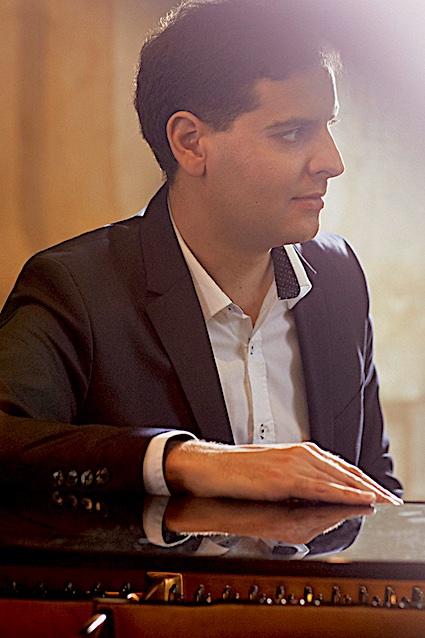 Aurélien Pontier, piano, sera à Saint Sauveur le 18 août