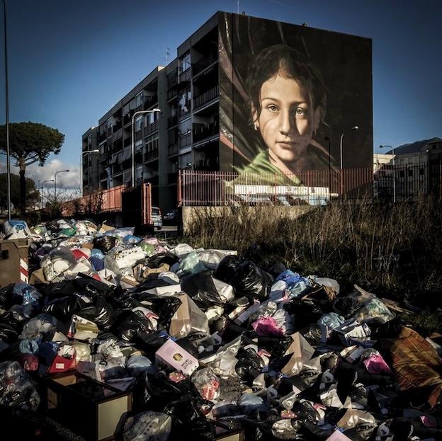 Série Le Grand Tour, Naples, 2019, appareil photographique numérique © Graziano Arici