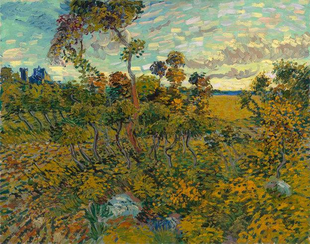 Vincent Van Gogh, Coucher de soleil sur Montmajour © musée Van Gogh, Amsterdam