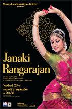 Janaki Rangarajan et ses musiciens. Danse bharatanatyam « Samviksana – une exploration », Musée Guimet, Paris, les 20 et 21 septembre 2013