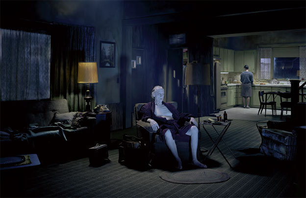 Gregory Crewdson, Sans titre (The Father), de la série « Beneath the Roses », 2007. FNAC 09-387 © D.R. / CNAP