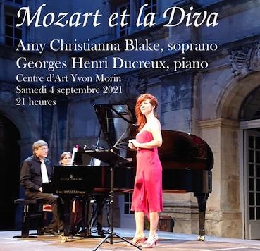 Le Poët-Laval (26), Centre d'Art Yvon Morin : concert Mozart et la Diva le 4 septembre 2021, 21h