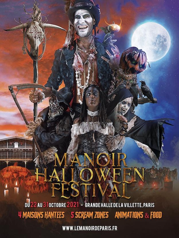 Paris, La Villette : Le Manoir Halloween Festival s'affiche du 22 Au 31 Octobre 2021